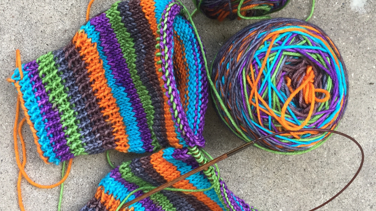 Diagon Alley Sock yarn