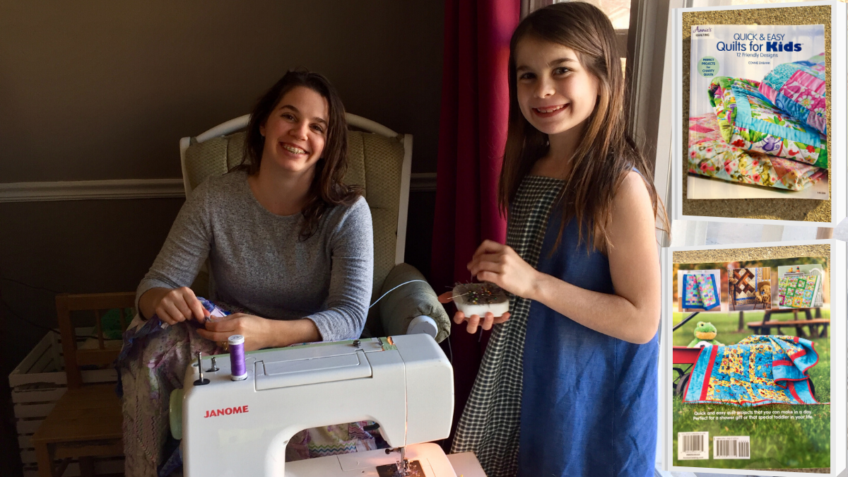 Quick & Easy Quilts For Kids Sewing